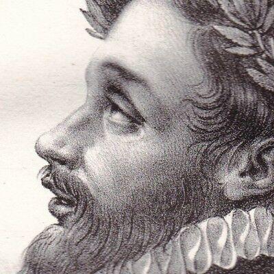 Portrait-XIXe-Étienne-Jodelle-Poète-Dramaturge-Pléiade